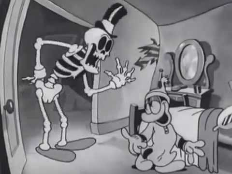 Skeleton cartoons