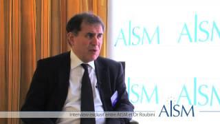 Interview Nouriel Roubini lors de la conférence AISM au Pavillon Ledoyen