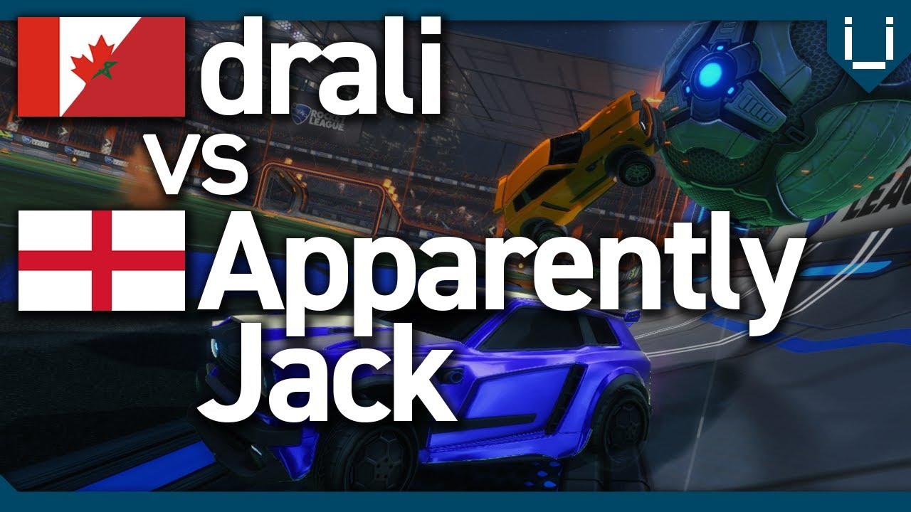 Drali vs ApparentlyJack | Rocket League 1v1 Showmatch