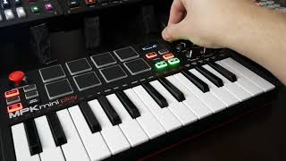 Akai MPKmini Play sound demo