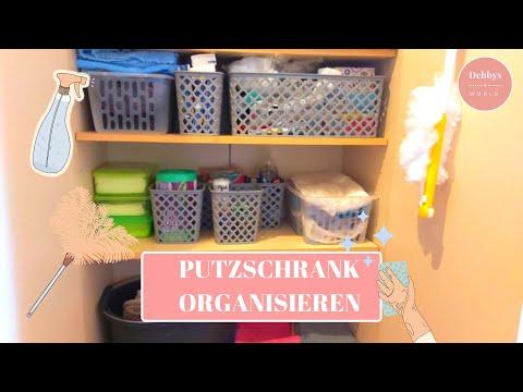 🧼ORGANISATION UND ORDNUNG IM PUTZSCHRANK|PUTZMOTIVATION|PUTZROUTINE