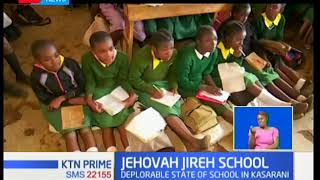 Pupils of a school in Nairobi's Kasarani area have been forced to resort to crude alternatives to su