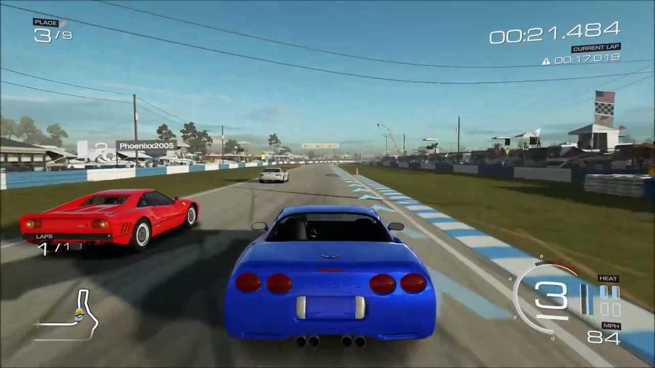 Forza 5 2002 Chevrolet Corvette Z06 on Sebring Gameplay - YouTube