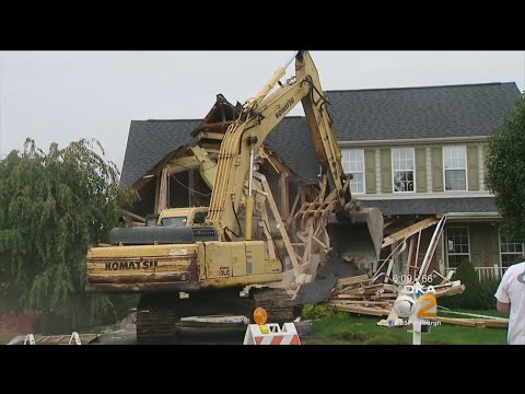 North Strabane Twp. Homes Torn Down Due To Landslide Threat