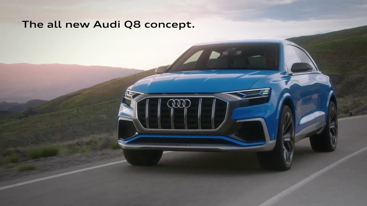 audi q8 concept official commercial youtube. Black Bedroom Furniture Sets. Home Design Ideas