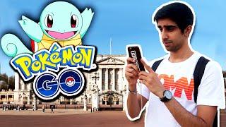 pokemon go at buckingham palace