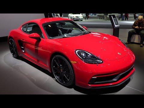 Porsche Cayman 718 Slow Walkaround at Chicago Autoshow