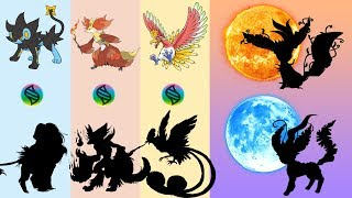 Fan Requests #15: Mega Luxray, Mega Delphox, Mega Ho-Oh, Leafeon Sun & Moon Evolutions