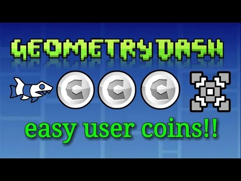 Easy user COINS - Geometry dash | Freddanna Fredd