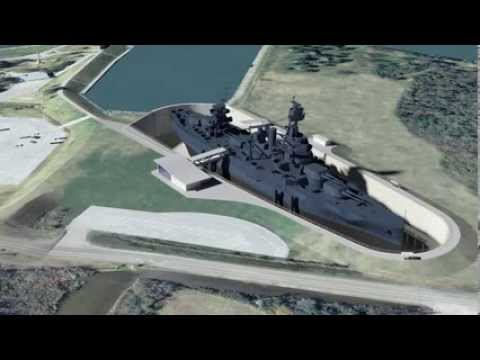 Battleship TEXAS Dry Berth Project Phase I Presentation - Full Video