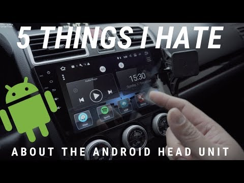 5 THINGS I HATE ABOUT THE ANDROID HEAD UNIT | 2015 SUBARU WRX