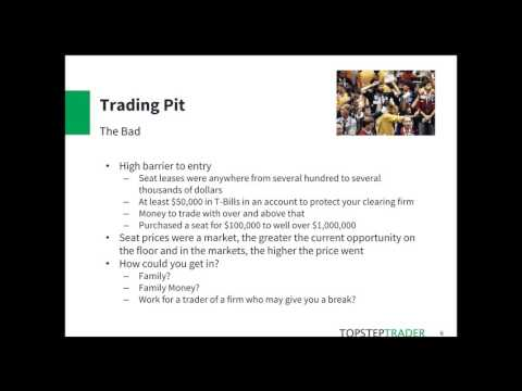 From The Pits To The Screens w/John Hoagland of TopstepTrader