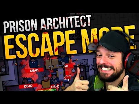 Prison Architect Escape Mode - SLAUGHTER ★ Escape Mode Gameplay