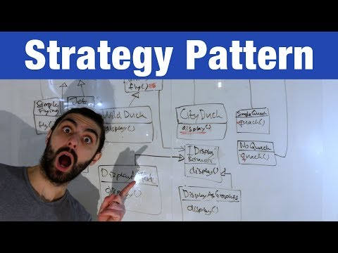 Strategy Pattern – Head First Design Patterns (ep 1)