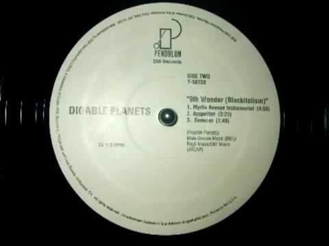 Digable Planets - 9th Wonder (Blackitolism) (Myrtle Ave Instrumental) (1994) [HQ]