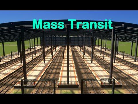 What is the mass transit DLC in cities skylines |