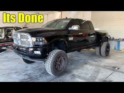 Rebuilding a Lifted Dodge Ram 3500 part 4 Its Done