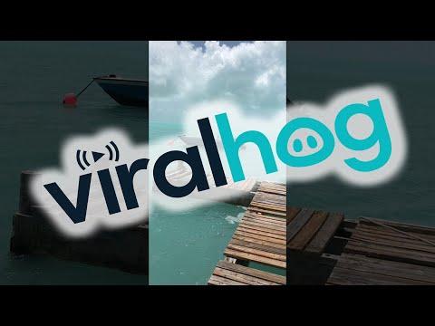 Hurricane Irma Returns Water To Bahamas Beach