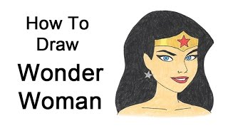 How to Draw Wonder Woman (Justice League)