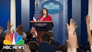 white house daily press conference