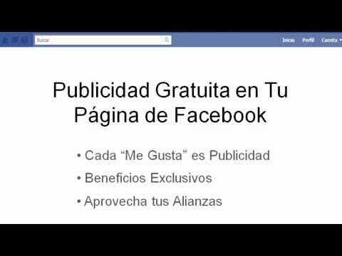 Publicidad GRATIS *en FACEBOOK* (ME GUSTA)