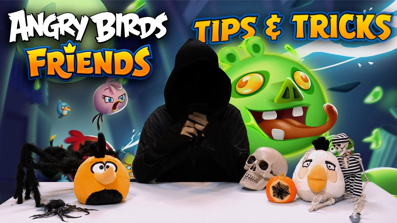 Angry Birds Friends | Tips & Tricks Halloween Special!