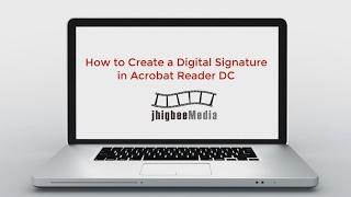 So Erstellen Sie eine Digitale Unterschrift in Adobe Acrobat Reader DC