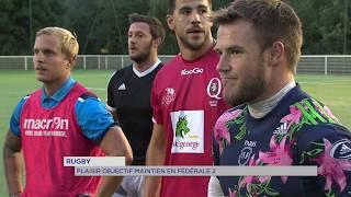 Rugby : Plaisir se lance en fédéral 2