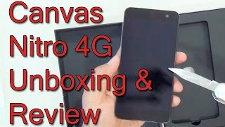 Micromax Canvas Nitro 4G Unboxing And Review