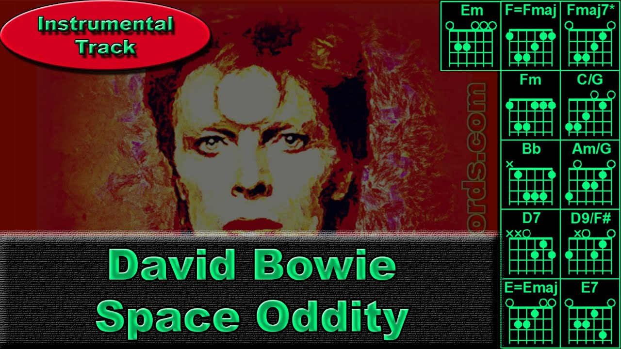 David Bowie Space Oddity Instrumental Guitar Chords 0013 B2