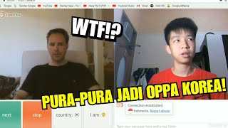 Video PRANK OME.TV - PURA-PURA JADI ORANG KOREA! (Indonesia) | Stanley Haoe download MP3, 3GP, MP4, WEBM, AVI, FLV Agustus 2018