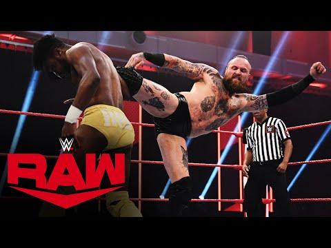 Aleister Black vs. Leon Ruff: Raw, March 23, 2020