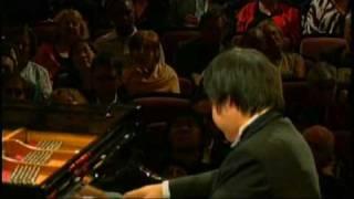 Nobuyuki Tsujii 辻井伸行  Liszt Paganini Etude No.3, ラ・カンパネラ  2009 Van Cliburn International Piano Competition(WIDE)