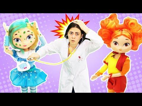 Куклы Сказочный Патруль и волшебный Торт! – Игры для девочек.