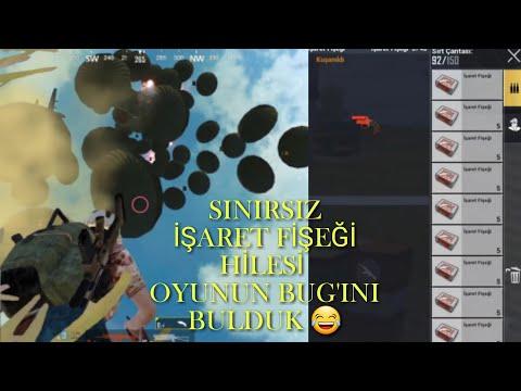SINIRSIZ İŞARET FİŞEĞİ HİLESİ PUBG MOBİLE