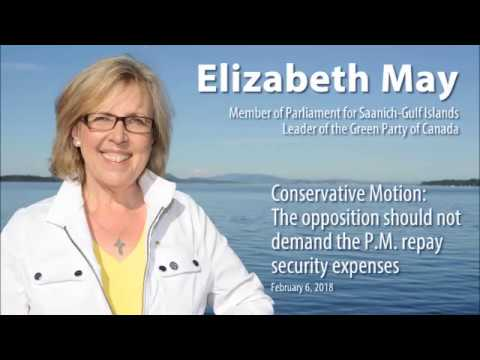 The opposition should not demand the P.M. repay security expenses