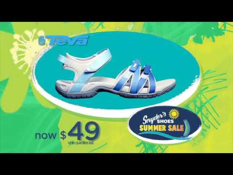 Snyder's Shoes Closed for 2016 Summer Sale