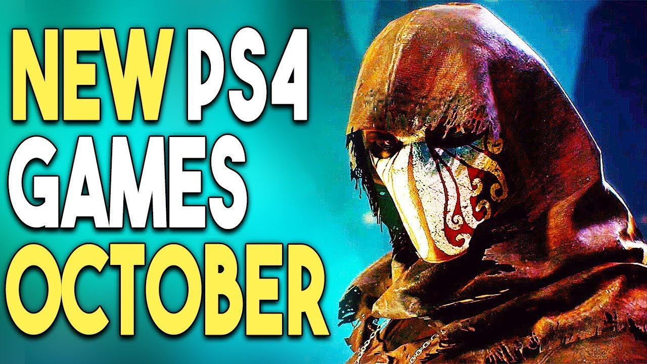Top 15 Big Ps4 Games Coming In October 2018 Youtube