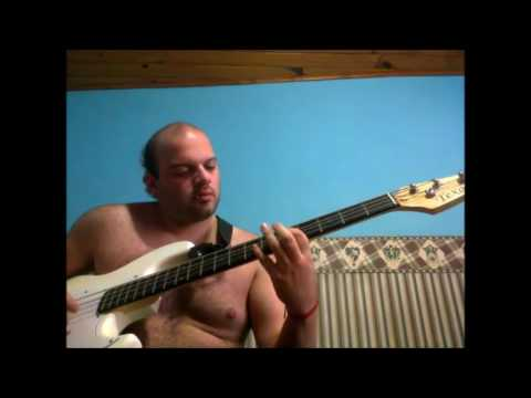 scarred for life (vida perdida) the casualties (bass cover) mp3