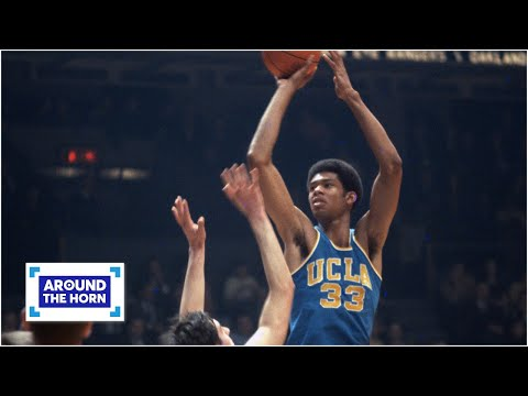 Was Kareem Abdul-Jabbar snubbed in ESPN's greatest college players poll? | Around the Horn