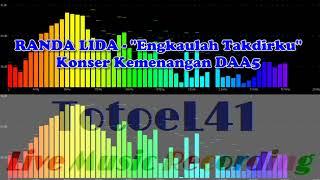 Download Randa LIDA - Konser Kemenangan DAA5 - Engkaulah Takdirku