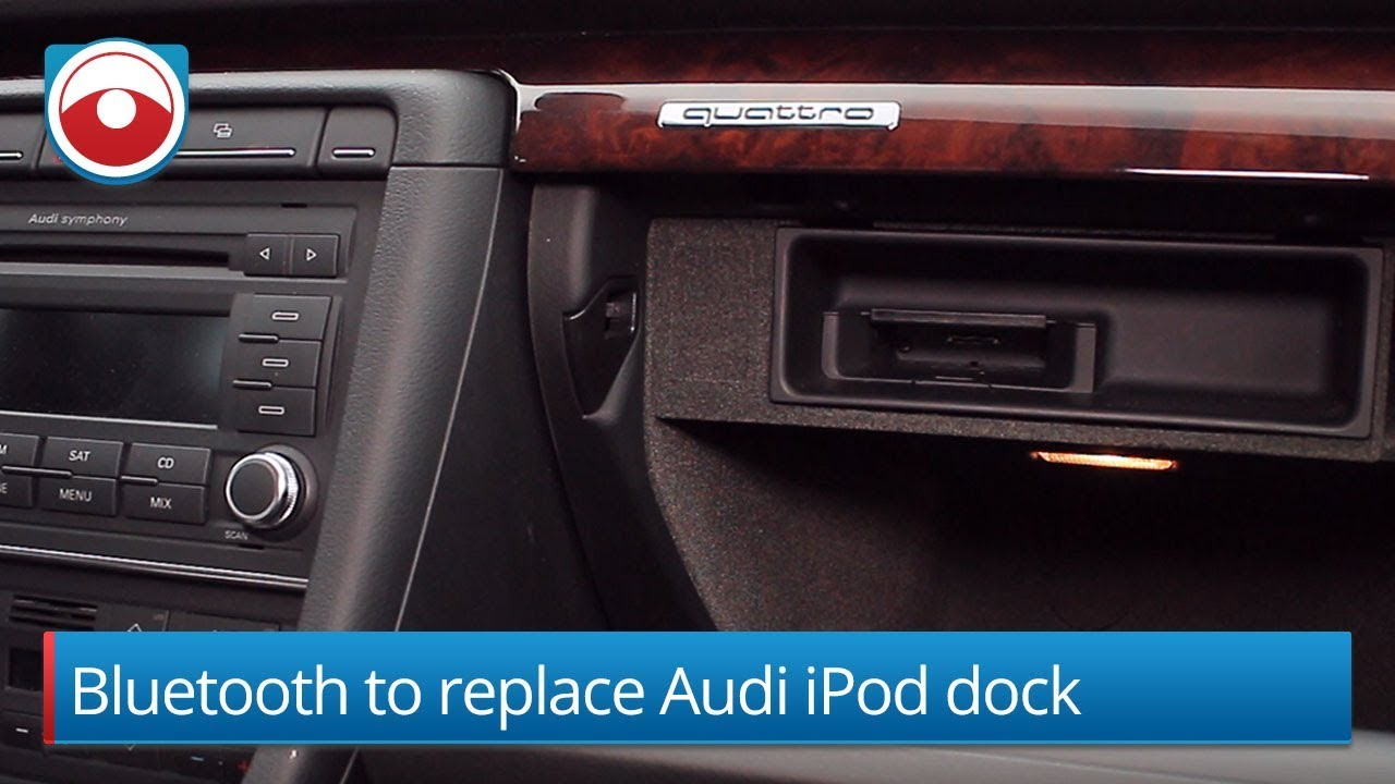 how to replace the factory ipod dock with bluetooth in a. Black Bedroom Furniture Sets. Home Design Ideas