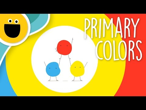 Primary Colors Song (Sesame Studios)