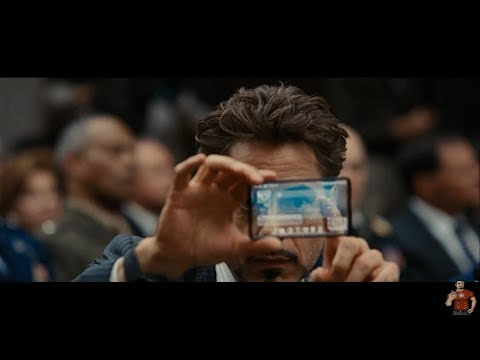 """Hacking Scene -""""You want my property, You can't have it""""- Part 2 Iron Man 2(2010)Movie Clip HD"""