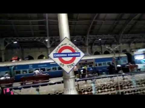 Chennai Egmore railway station 2017