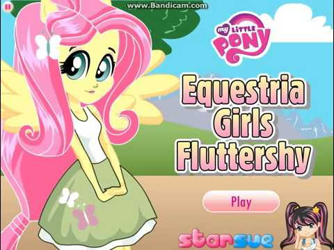 Equestria Girls Fluttershy Dress Up