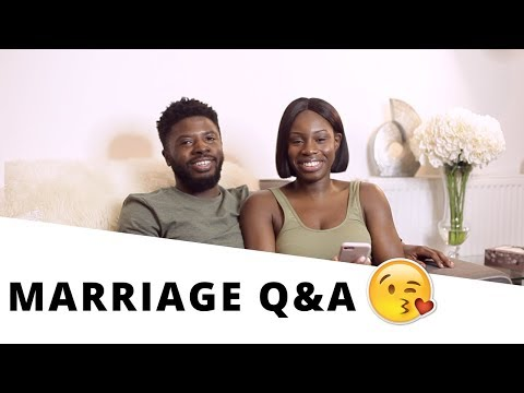 First year of Marriage Q&A | 10K SUBSCRIBERS