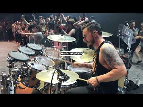 Thirty Seconds To Mars  Closer To The Edge SHANNON LETO DRUMCAM  @ Machaca in Monterrey