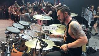 Thirty Seconds To Mars - Closer To The Edge [SHANNON LETO DRUMCAM] (Live @ Machaca in Monterrey)