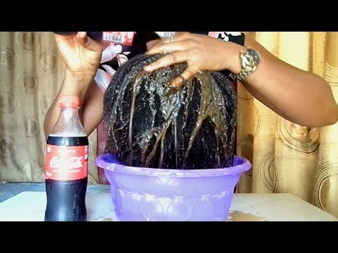 Video: Nigerian Lady Used Coca-Cola To Wash Her Hair And This Happened (Watch Video)